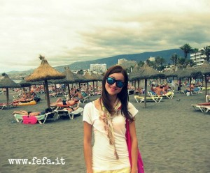 Playa de las Américas: Playa de Troya, con la sua inconfondibile sabbia nera.
