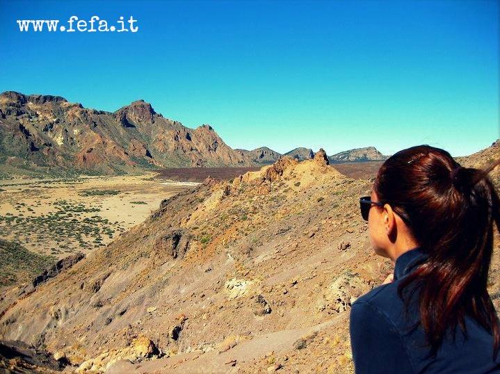 """Il Parco Nazionale del Teide che i Guanches chiamavano """"Echeyde"""", che significa """"Casa di Guayota"""", il Diavolo."""