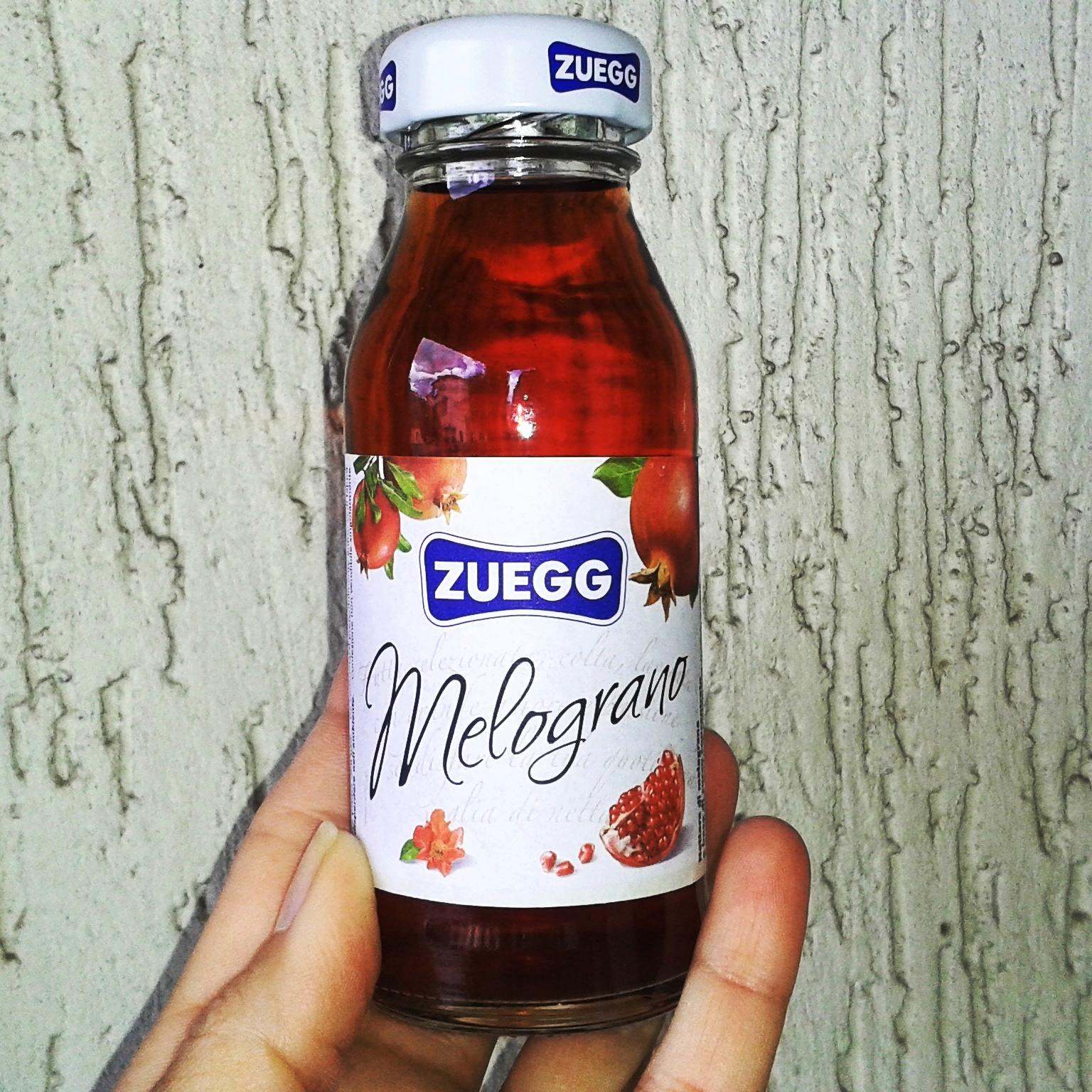 Succo Zuegg al Melograno. Healthy and Tasty! Love it ❤