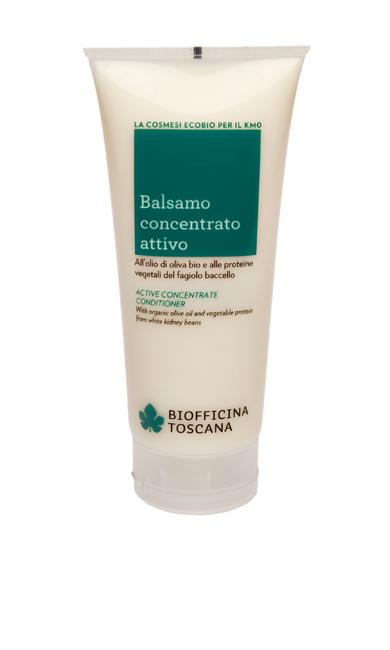 Balsamo concentrato attivo all'olio di oliva bio e alle proteine vegetali del fagiolo baccello - Biofficina Toscana [http://www.biofficinatoscana.com/prodotto.php?pid=13]