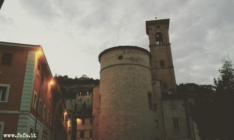 L'ingresso nel borgo storico di Fossombrone (PU)