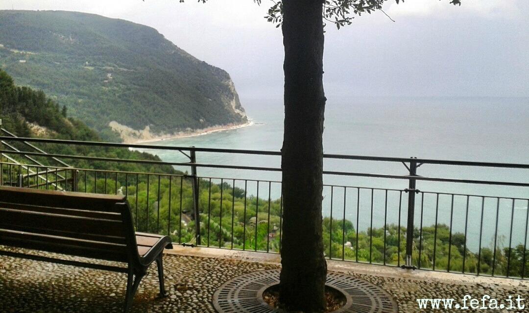 Sirolo, Marche, Monte Conero, Little Square