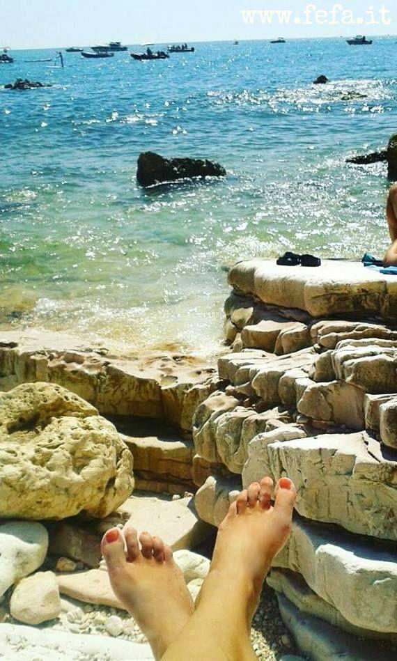 Che stanchezza, ragazzi ❤️ (Sirolo, Riviera del Conero)