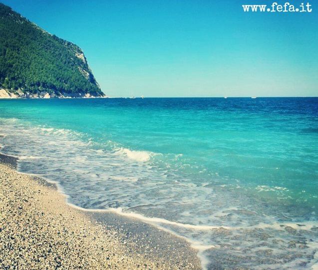Spiaggia San Michele e Sassi Neri, Sirolo - Marche