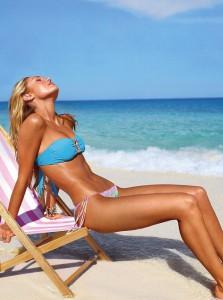 Candice Swanepoel, Victoria's Secret Model - e la il suo #flatstomach